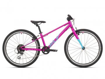 Dětské jízdní kolo Superior F.L.Y. 24 gloss purple/neon turquoise 2021