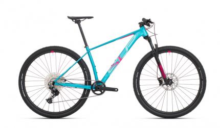 Jízdní kolo Superior XP 909 Matte turquoise/pink red 2021