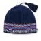 Čepice Kama pletená RETRO A42 tmavě modrá