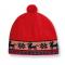Dětská čepice Kama pletená B37 červená