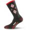Ponožky LASTING SCK 903 černo/červené