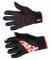 Běžecké rukavice Rex KUUSAMO černo/červené