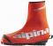 Návleky na lyžařské boty Alpina OVERBOOT red-silver