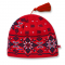 Pletená čepice  Kama A05 červená
