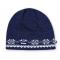 Pletená čepice Kama A11 modrá
