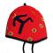 Dětská pletená čepice Kama B41 červená