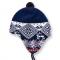 Dětská pletená čepice Kama B48 modrá