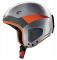 Sjezdová helma Carrera Thunder stříbrná