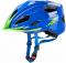 Dětská cyklistická helma Uvex Quatro junior  blue green 2015