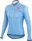 Cyklistický dres Casttelli 14064 bunda Velo- bledě modrá dámská