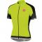 Cyklistický dres Casttelli 14017 dres Entrata FZ- reflexní žlutá - černá pánský
