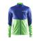 Běžecká bunda Craft Race 1903574-2344 modro zelená pánská
