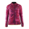 Cyklistická bunda Craft 1903258-2042 Featherlight fialová vzor dámská