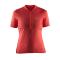 Cyklistický dres Craft 1903981-2441 Velo oranžový dámský