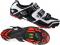 Tretry - boty na kolo MTB Shimano XC61W cyklistická obuv pánská bílo černá