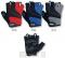 Cyklistické rukavice gelové Etape Supra 37-07 pánské vel.M - černo-šedá