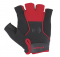 Cyklistické rukavice gelové Etape Grip 31-15 černo červené