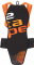 Chránič páteře Etape Back pro 1595114 černá/oranžová