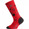 Ponožky LASTING WJS 398 červená