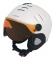 Lyžařská helma Mango Volcano Pro 2017/18 white pearl matt