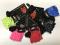 Dětské cyklistické rukavice 3F vision růžové - 1527