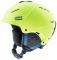 Lyžařská helma Uvex P1US 2.0, lime mat 2018/19
