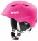 Dětská lyžařská helma Uvex Airwing 2 Pro, růžová mat 2018/19