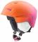 Dětská sjezdová helma Uvex Manic Pro, růžová-oranžová met mat 2018/19