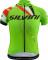 Cyklistický dres Silvini Team CD1435 green-red