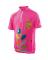 Dětský cyklistický dres Kalas Leaves pink junior 1041-052X
