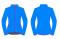 Běžecká bunda dámská KV+ Karina 20V120.2 blue/pink 2020/21