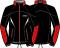 Běžecká bunda KV+ Lahti 9V116.13 Black/red 2019/20