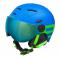 Dětská lyžařská helma Etape Rider pro modrá/zelená mat 2019/20