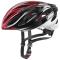 Cyklistická helma Uvex Boss race, black-red 2020