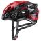 Cyklistická helma Uvex race 7 black red 2020