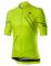 Cyklistický dres Castelli Passo yellow fluo 2020