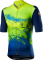 Cyklistický dres Castelli Polvere jersey Yellow fluo 2021